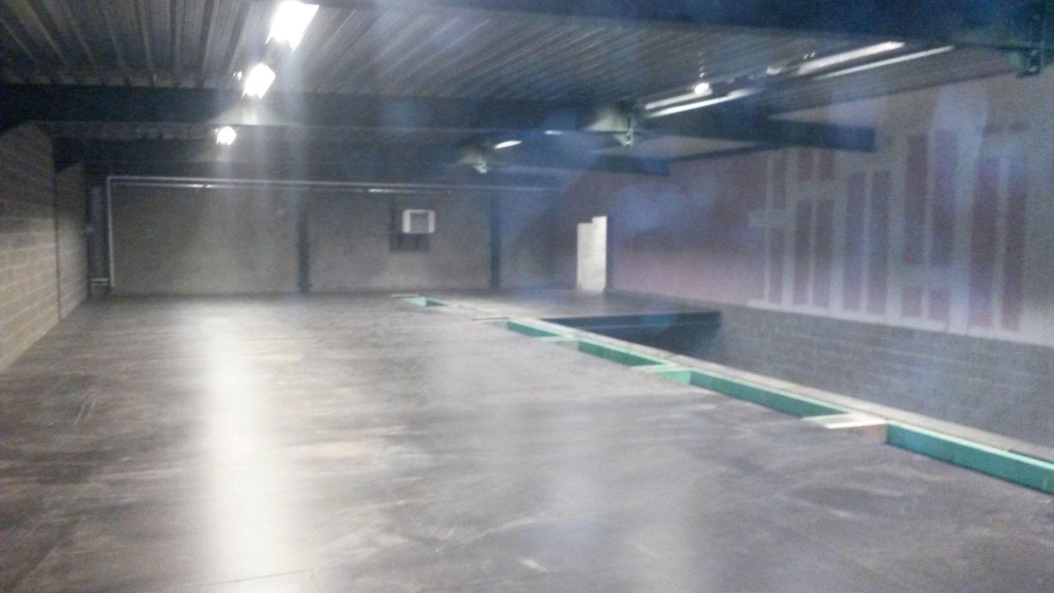Le chantier d'une cleanroom en vidéo au laboratoire Tilman